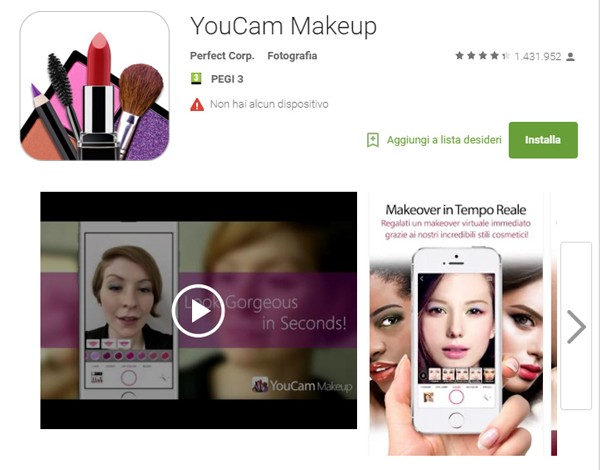 200 mln di download per le beauty app YouCam – Beauty