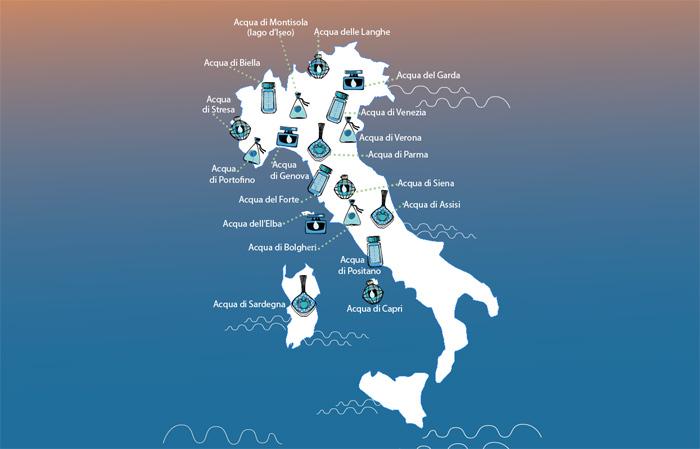 Chiare fresche e profumate acque d italia beauty for Acqua design italia