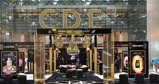 L'Oréal Luxe, un pavillon all'aeroporto di Doha