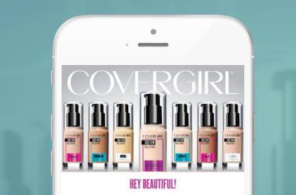 CoverGirl, app per il fondotinta 'giusto'
