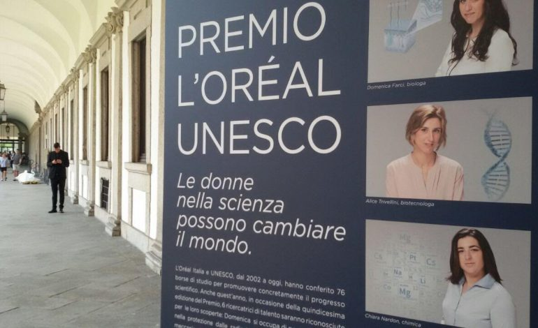 L'Oréal Italia per le donne e la scienza