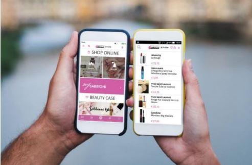 Profumerie Sabbioni lancia un'app mobile