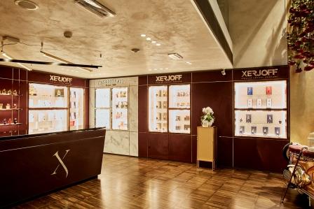 Xerjoff, primo store italiano a Torino