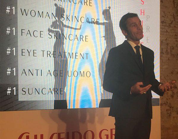 Shiseido, Noè promosso al quartier generale di Parigi