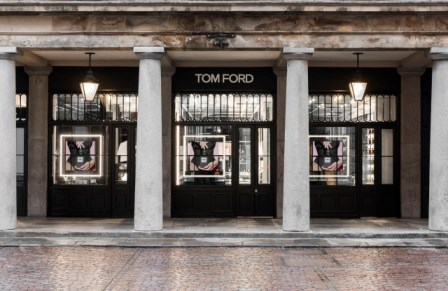 Tom Ford, a Covent Garden il primo monomarca beauty