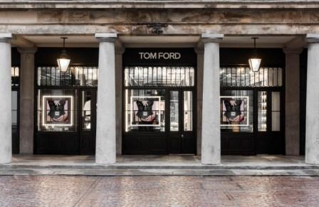Tom Ford, a Covent Garden il primo monomarca beauty