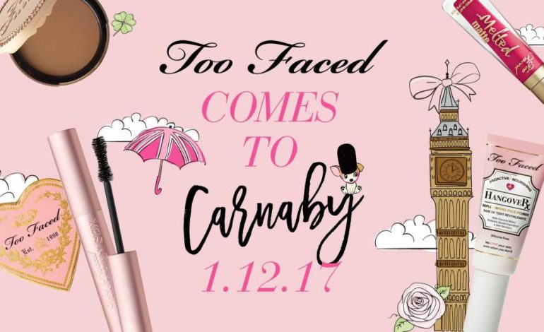 Too Faced, primo store a Londra