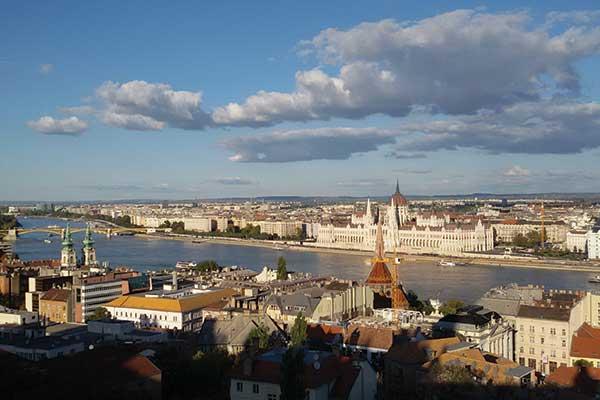 Beauty 'blu' lungo il Danubio