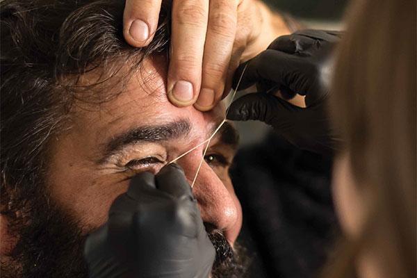 L'uomo perde il pelo … ma non il ciglio