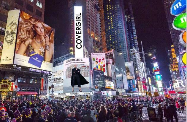 Covergirl apre il suo primo flagship a New York