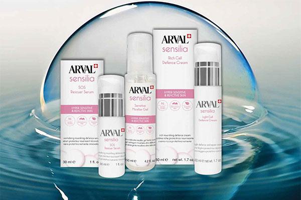 Sensilia di Arval, la risposta per le pelli sensibili