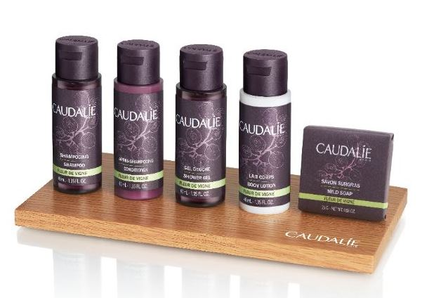 Groupe GM fa le amenities per Caudalie