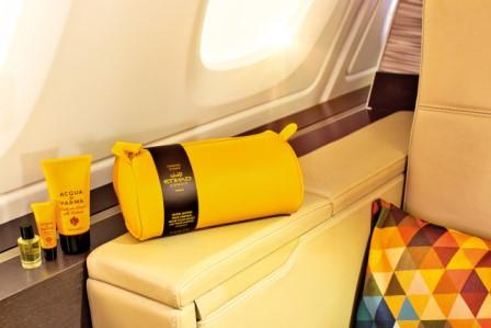 Acqua di Parma in volo con Etihad Airways
