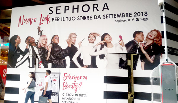 Arriva a Milano il primo Sephora per la #community