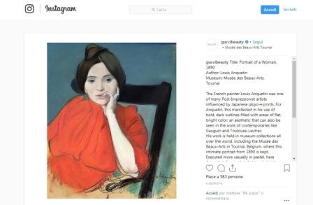Gucci apre account Instagram per il beauty