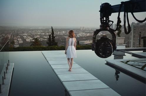 LV, prima campagna video con Emma Stone