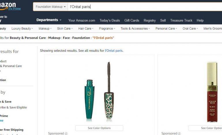 L'Oréal best seller su Amazon Usa