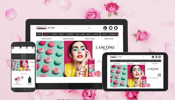 """Profumerie Sabbioni: """"L'online è il primo negozio"""""""