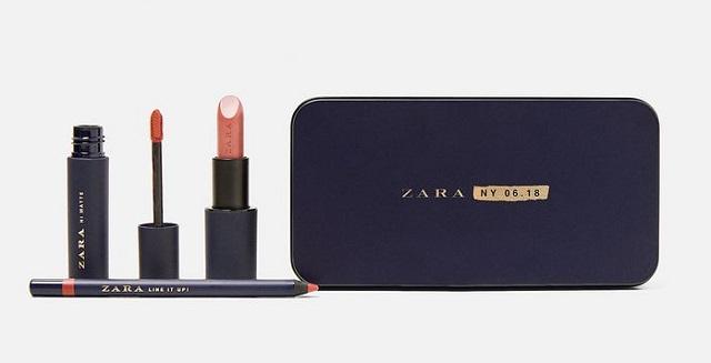 Zara lancia il make-up partendo dal rossetto