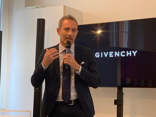 """Raimondi: """"La bellezza di Givenchy cresce double digit"""""""