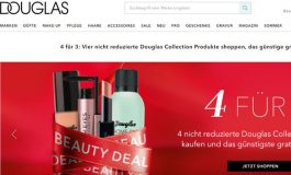 Douglas, l'e-commerce cresce del 37%