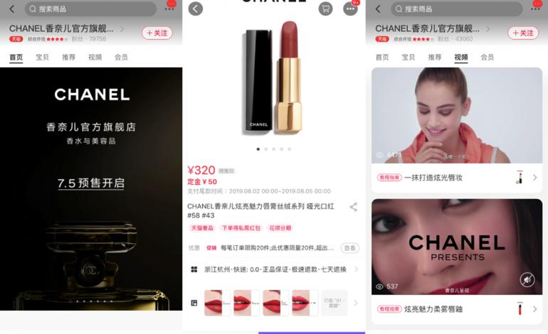 Chanel porta la bellezza su Tmall
