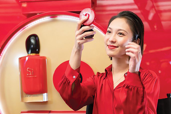 Asia e beauty booster del travel retail