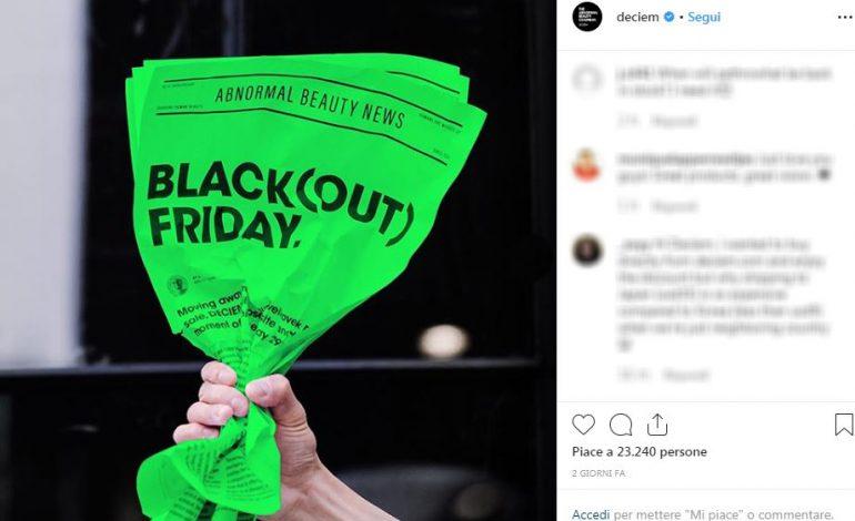 Deciem chiude nel Black Friday
