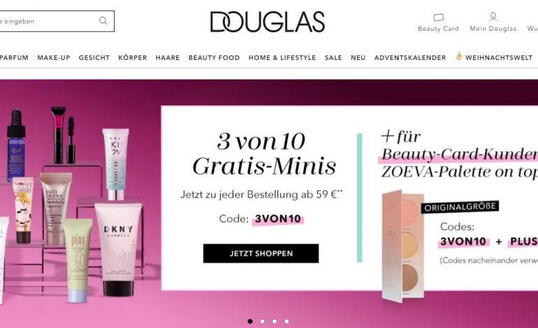 Douglas sfida Amazon con un marketplace