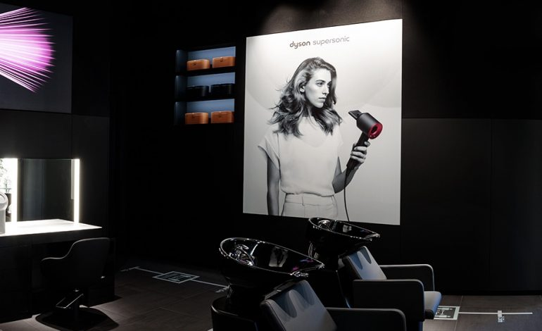 Dyson apre Beauty Lab in Gae Aulenti
