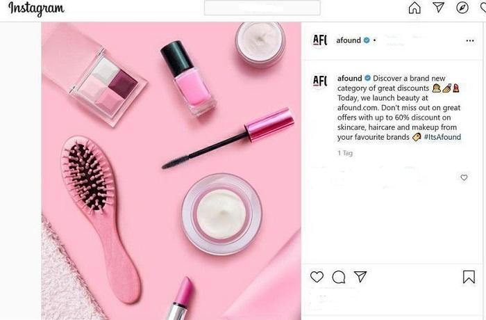 H&M punta sulla bellezza con Afound