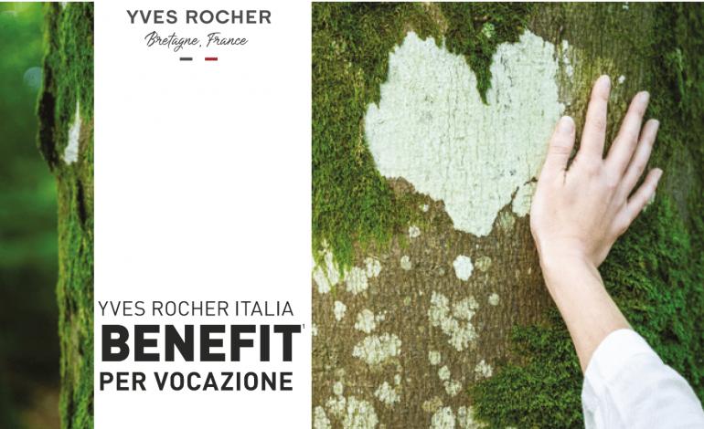 Yves Rocher Italia diventa Società Benefit