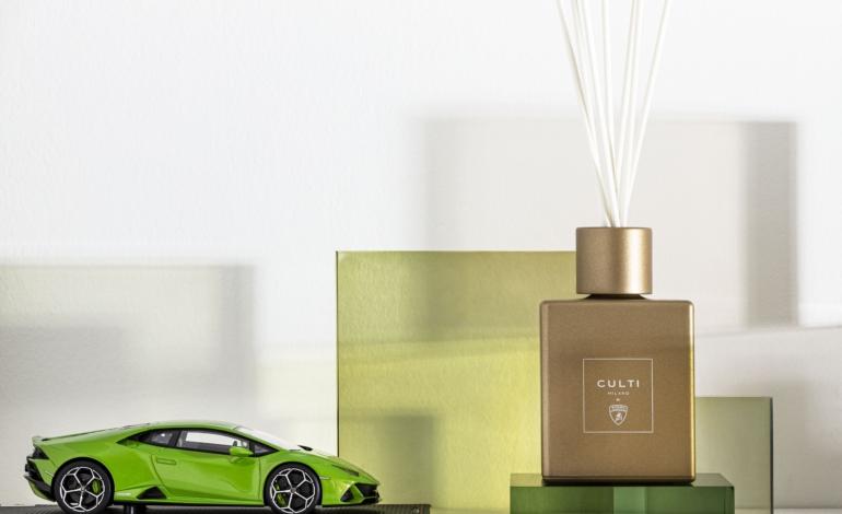 Culti Milano si profuma con Automobili Lamborghini
