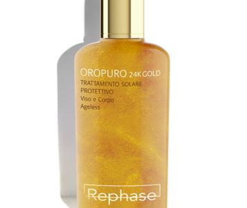 Rephase lancia la linea solare Oropuro 24K Gold